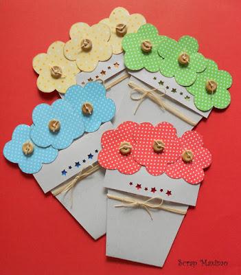 Um Cartão Florido e Colorido!