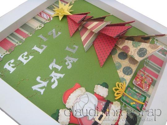 Claudinha Ensina Árvore de Natal em Origami