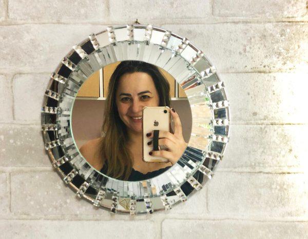 #PareceComprado Espelho Prateado por Camila Camargo – Produtos Casa da Arte